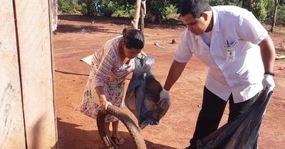 Salud Públicas pide a la población eliminar criaderos de mosquito