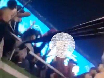 Fiscalía investiga acto exhibicionista en el clásico Olimpia-Cerro