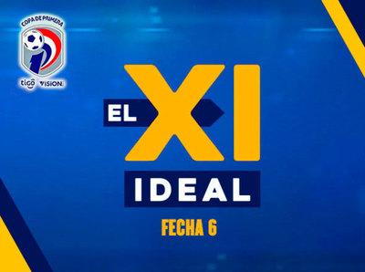 El equipo ideal de la sexta fecha del Apertura 2019