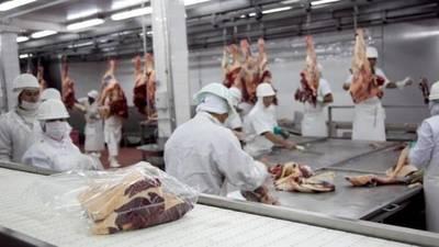 Bajo el volumen y el precio promedio de la tonelada de carne exportada frente a igual periodo de 2018