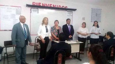 Realizan examen psicotécnico para vacancia en Pilar