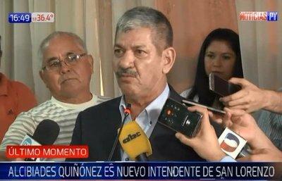 Jura nuevo intendente en San Lorenzo