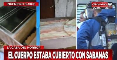 Mujer asesina a su pareja y guarda el cuerpo en un ropero
