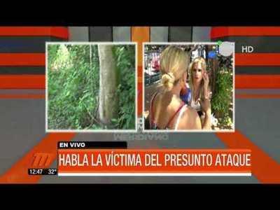 Habla víctima que fue atada a un árbol y sometida a vejaciones