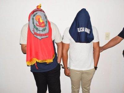 Detienen a supuestos robacoches en Guairá