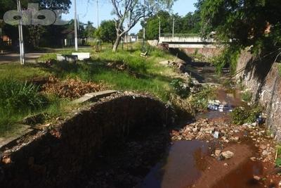 Arroyo Fortín se convirtió en vertedero de basura en Villa Elisa