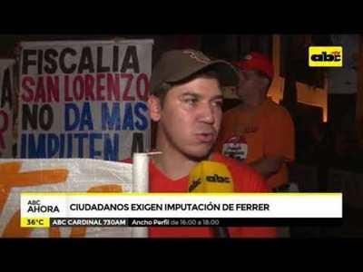 Ciudadanos exigen imputación de Ferrer