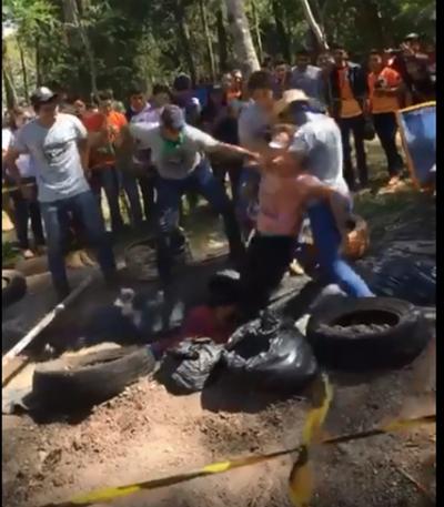 [VIDEO] Violento bautismo en Caaguazú