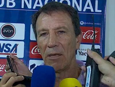 Palabras de Hugo Caballero, entrenador de Nacional