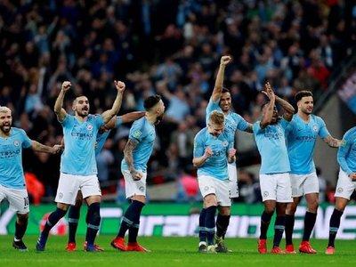 El City se sostiene en los penales y levanta la Copa de la Liga