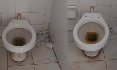 Lamentable estado de baños en el HRCO – Prensa 5