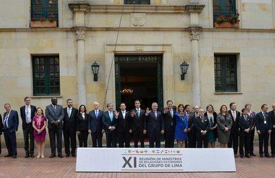 Grupo de Lima condena represión del régimen de Maduro