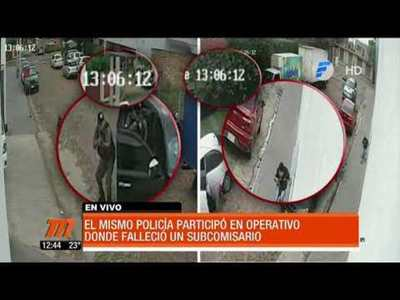 Mismo policía en dos procedimientos dudosos e irregulares