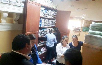 Allanan la Comuna de Concepción por manejos irregulares de Fonacide