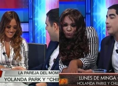 """""""Telembopi"""" parodió la entrevista a Yolanda Park y su nuevo novio"""