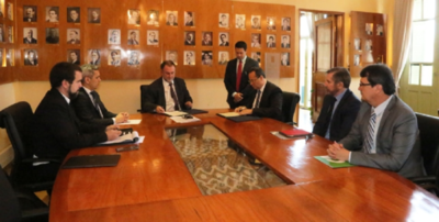 Gobierno y CAF priorizarán obras de infraestructura vial y saneamiento