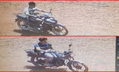 Fue a almorzar y le robaron la moto