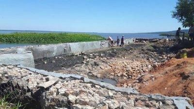 Constatan relleno en zona de humedales del Lago Ypacaraí