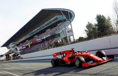 Ferrari fue el mejor del jueves
