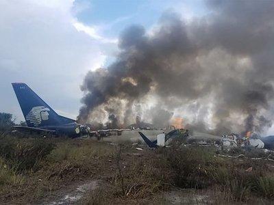 Hallan en perfecto estado las cajas negras del avión accidentado en México