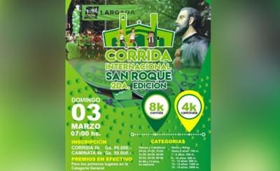 Corrida Internacional San Roque será este domingo