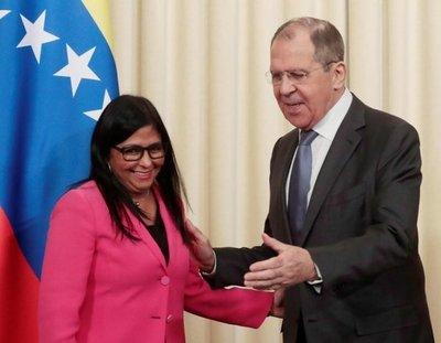 Rusia respalda a Venezuela contra EE.UU.