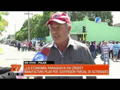 Manufactura Pilar anuncia suspensión parcial de sus actividades