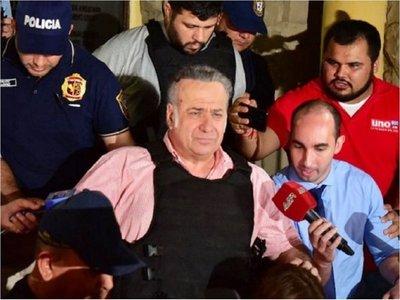 Por hechos nuevos, González Daher pedirá arresto en casa