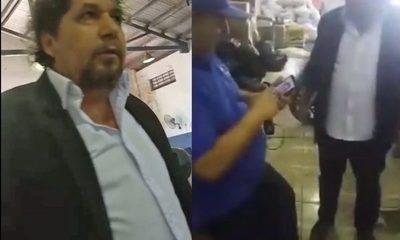 Concejal zacariista ataca a productor y apoya contrabando
