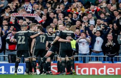 Champions: Ajax le dio un baile histórico a Real Madrid y clasificó a cuartos