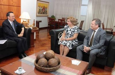 Presidente de la Corte recibió a embajador de China-Taiwán