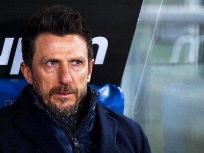 Roma destituye al técnico Di Francesco