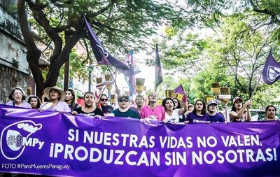 8M: Mujeres marcharán para exigir el cumplimiento de sus derechos laborales