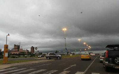 Persistirán lluvias en gran parte del país
