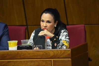 """Parlamentaria oradora: """"lo volvería a hacer una y mil veces"""""""