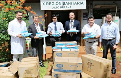 Tesãi dona insumos hospitalarios a la Décima Región Sanitaria