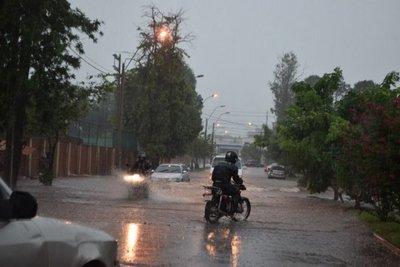 Sistema de tormentas avanza hacia Asunción