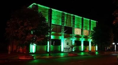 San Patricio: Municipalidad e Iglesia se visten de verde