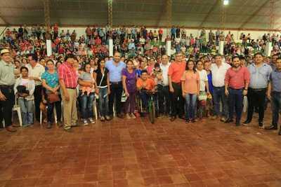 Paso Yobaí: Más de 1330 familias reciben transferencias monetarias de Tekoporã