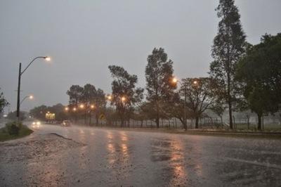 Indican ocurrencia de precipitaciones para hoy