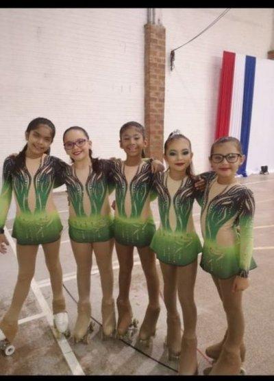 Atletas de Ayolas clasifican para Sudamericano de Patinaje