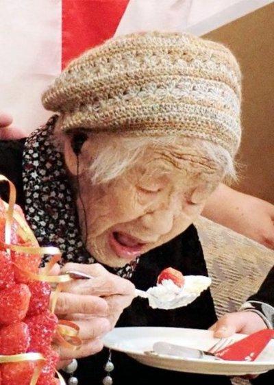 Abuela del mundo, con 116 años