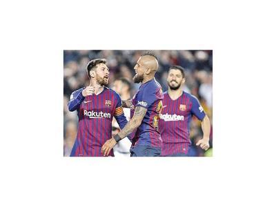 Barcelona y Aleti no fallan en sus juegos