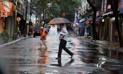 Seguirán las lluvias y tiempo cálido