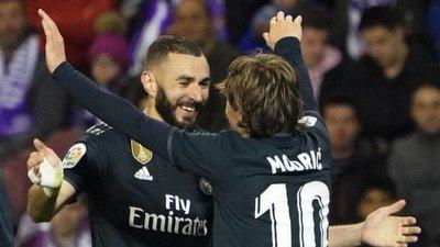 Real Madrid se reencuentra con la victoria en casa del Valladolid