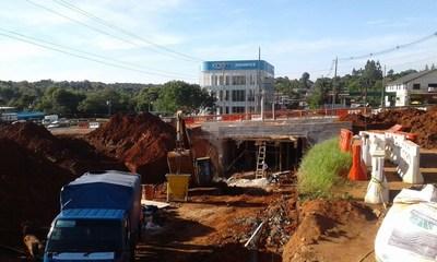 Avanza construcción de tunel en Ruta 7