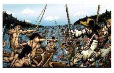 Un 11 de marzo de 1641 indios guaraníes vencían a los bandeirantes en la Batalla de Mbororé