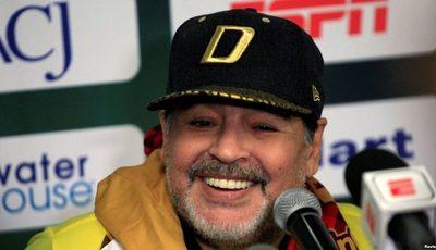 Maradona tiene tres hijos en Cuba y viajará para reconocerlos