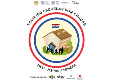 Hoy inicia el recorrido de prevención del chagas en escuelas del Chaco