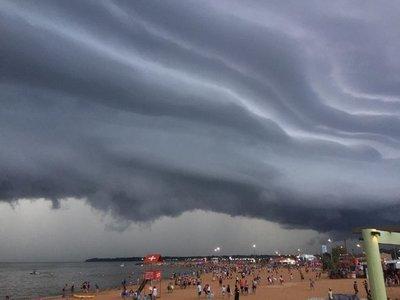 Anuncian tormentas para este martes en la Región Oriental